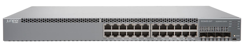 Juniper EX3400-24P / EX3400-24T / EX3400-24T-DC