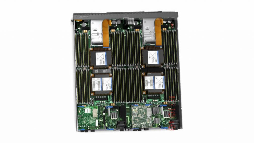 Вычислительный узел Flex System x440