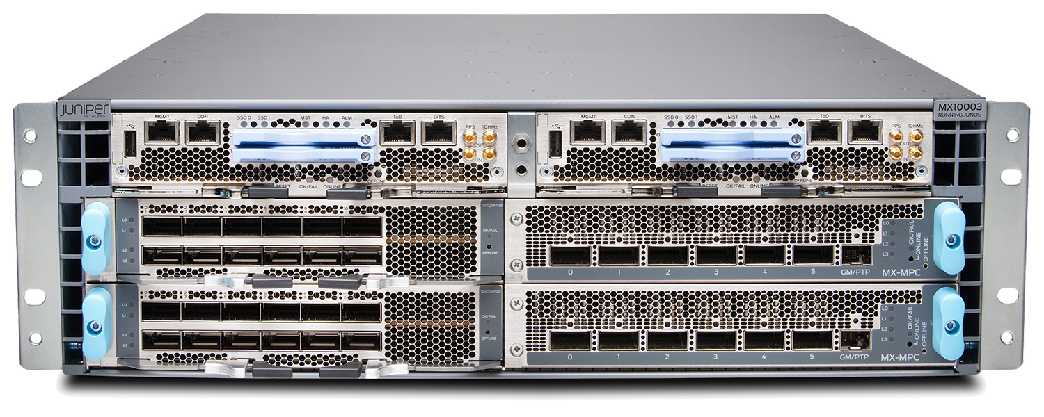 Juniper MX10003 3D Universal Edge Router