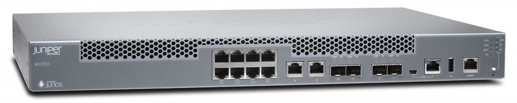 Juniper MX150 3D Universal Edge Router