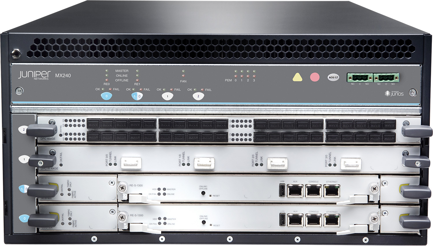 Juniper MX240 3D Universal Edge Router