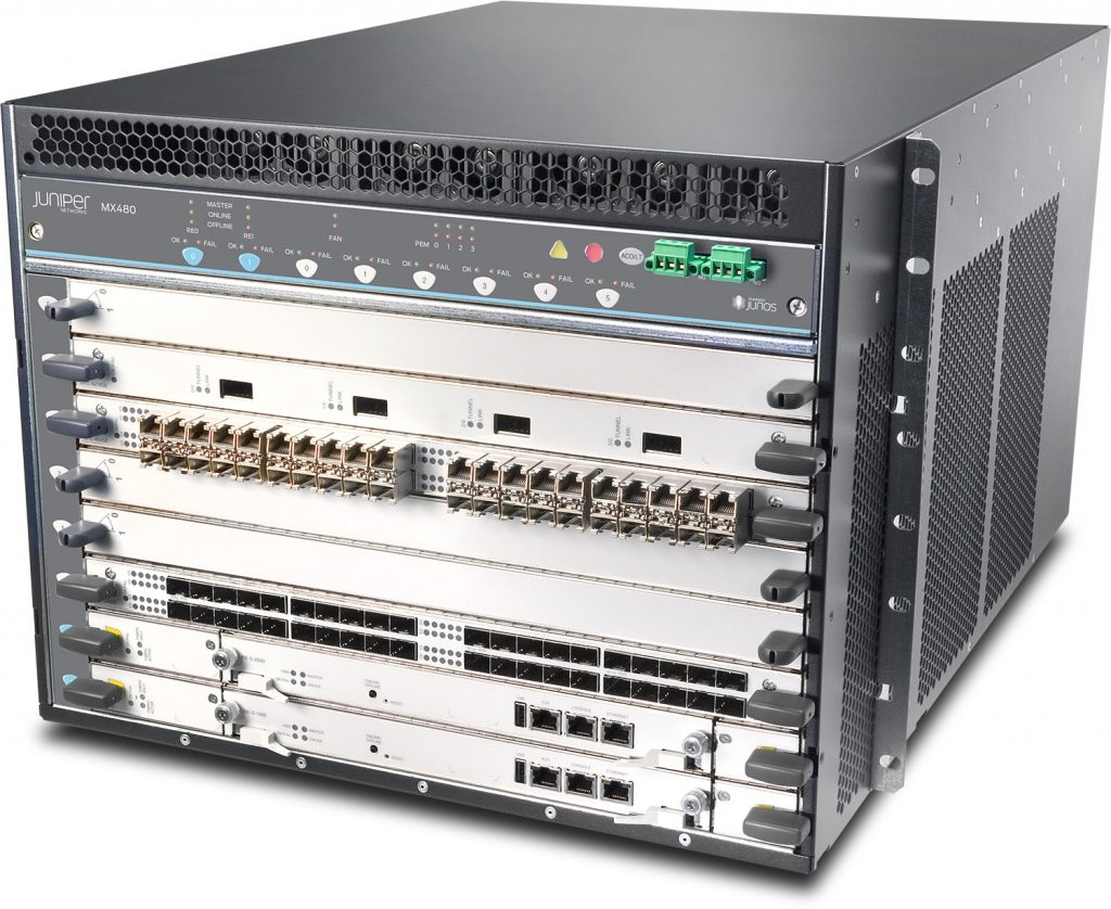 Juniper MX480 3D Universal Edge Router