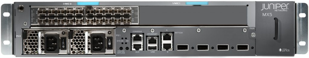 Juniper MX5 3D Universal Edge Router
