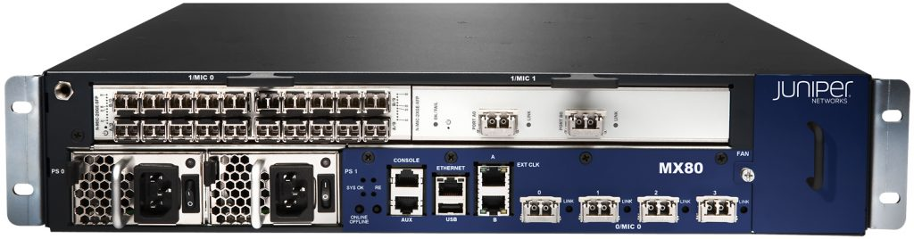 Juniper MX80 3D Universal Edge Router