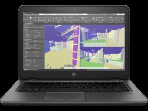 Мобильная рабочая станция HP ZBook 14u G4 (1RQ67EA)