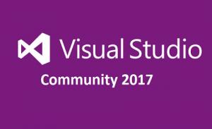 microsoft visual studio community 2017