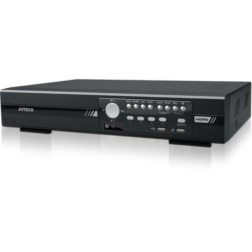 4-х канальный HD-TVI видеорегистратор DG1004