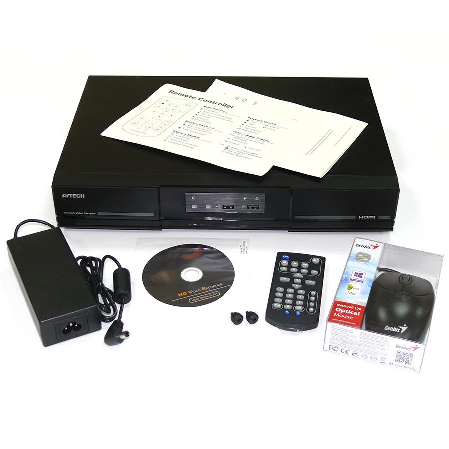 Сетевой видеорегистратор AVH408P