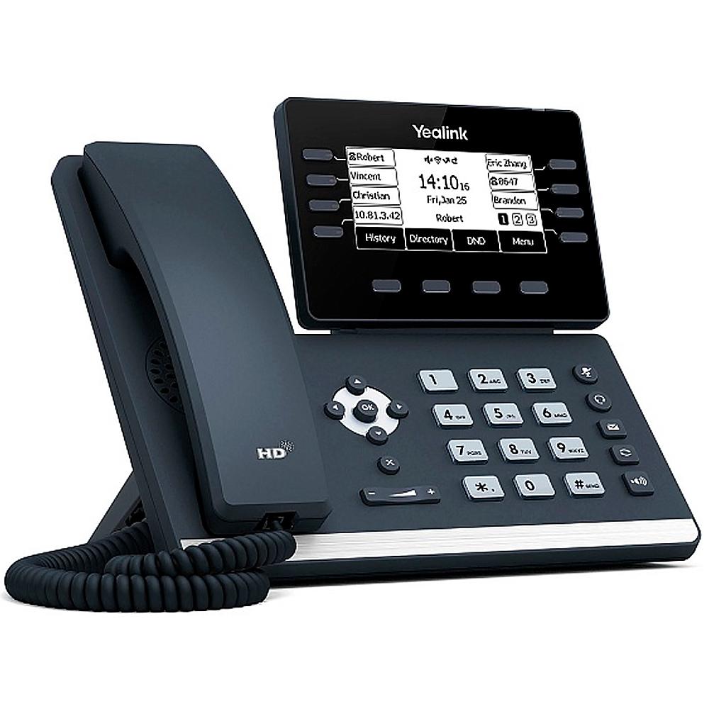 Yealink SIP-T53W 12 аккаунтов, Wi-Fi, Bluetooth, РоE, без БП