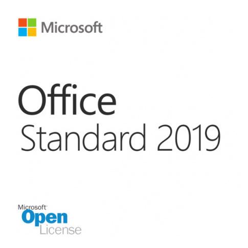 Microsoft Office Standard 2019 Single Open No Level (021-10609) для коммерческих организаций
